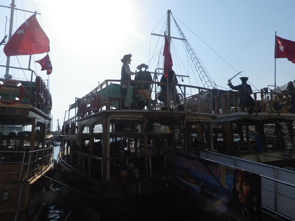 Antalya Harbour Boat